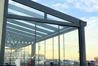 Glass canopies cornwall