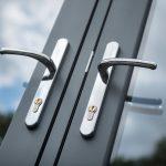 Chrome Handle Doors Bude