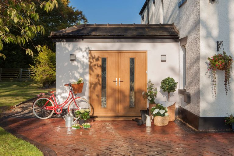 Composite Double Doors Bude