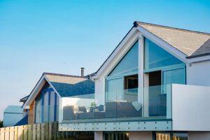 Duck Egg Blue Aluminium Windows, Doors & Balustrade Installation