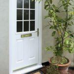 White uPVC Doors Bude
