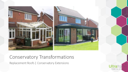 Replacement Roofs Presentation
