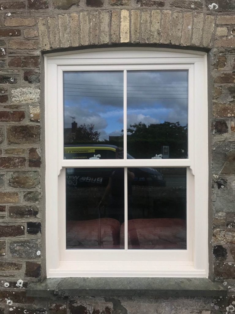 Sliding Sash Windows Fitted in Cornwall