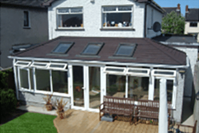 Tiled Conservatory Cornwall
