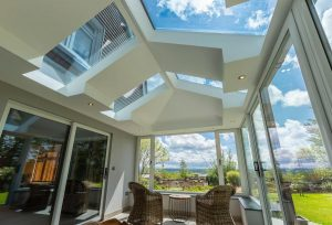 Extension with Roof Windows Bude