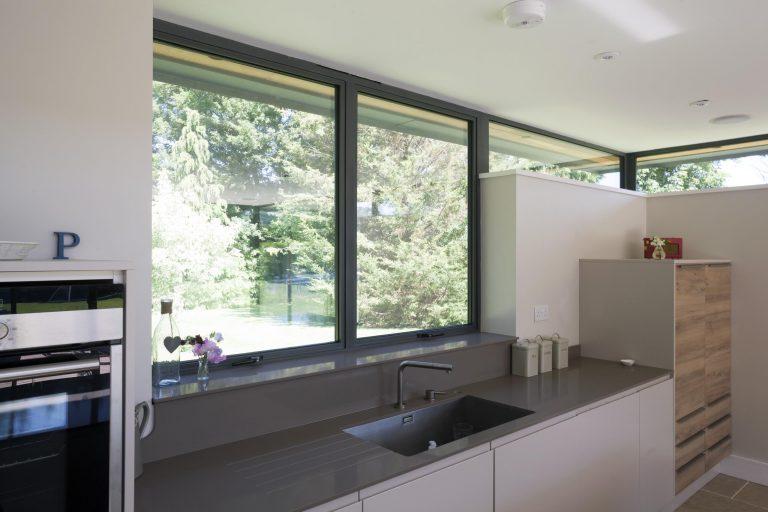 Grey Aluminium Windows Bude