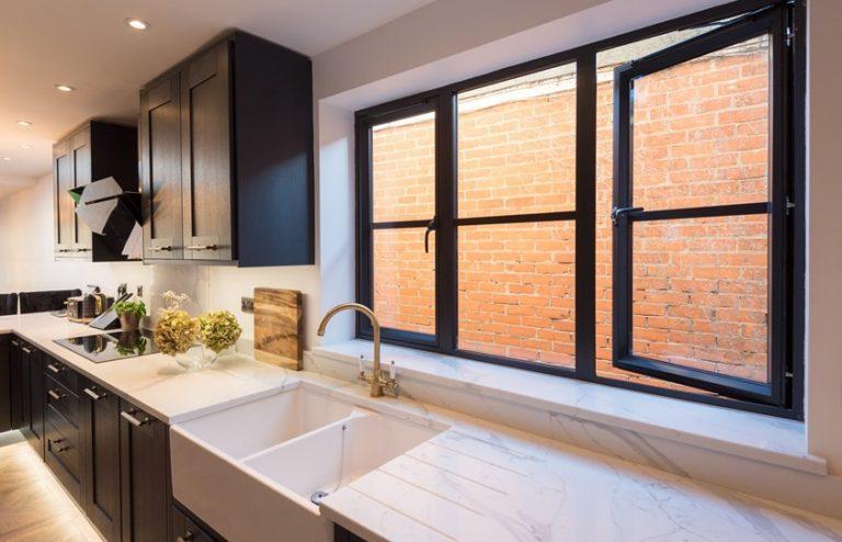Slimline aluminium windows Bude
