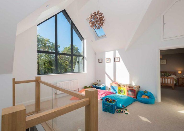 Shaped Aluminium Windows Bude Cornwall
