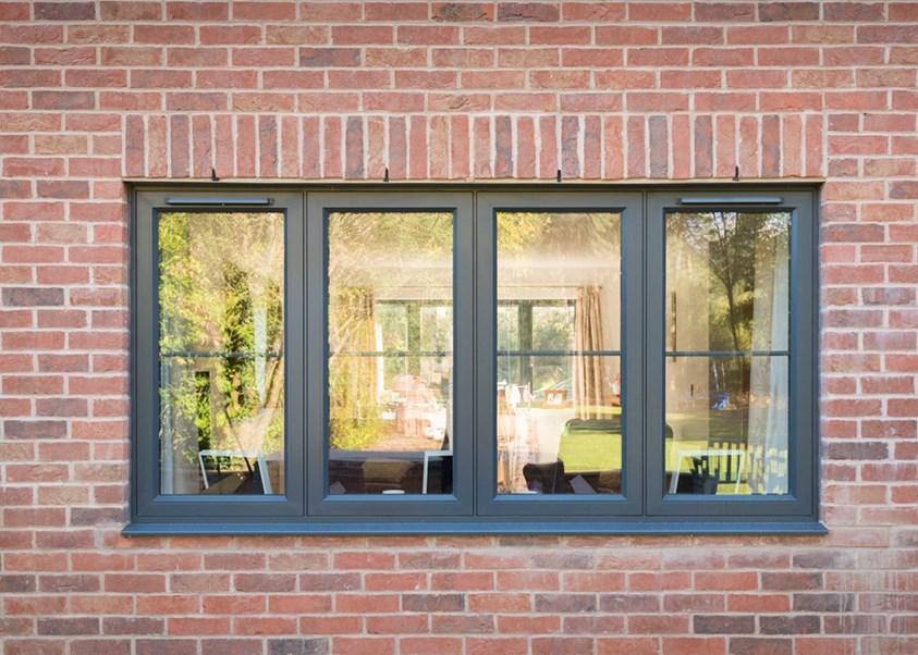 Double Glazed Aluminium Windows Bude Cornwall