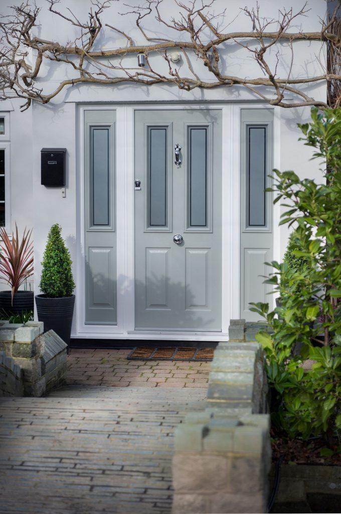 Grey Composite Doors Bude