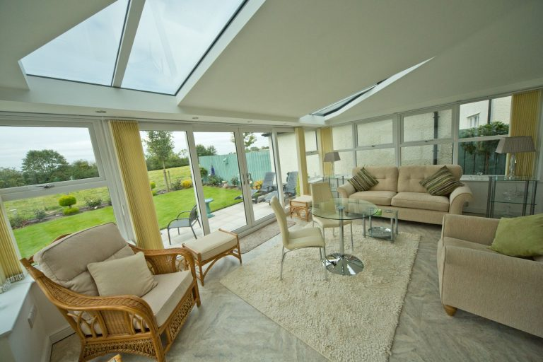 Solid Conservatory Roofs Interior Bude