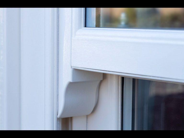 Sliding Sash Window with Horns Cornwall